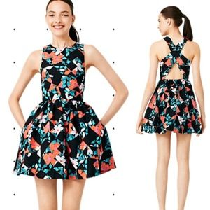 Kate Spade Saturday Sexy Back Fit & Flare Dress